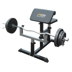 Seated Preacher Curl Bench