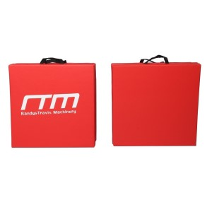 Gymnastics and Martial Arts Folding Exercise Mat - Red